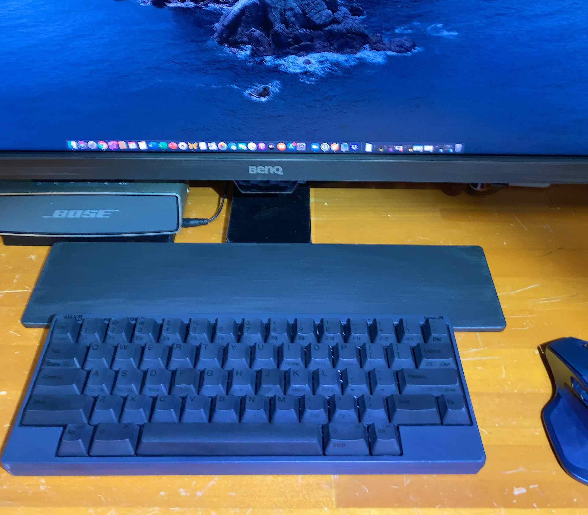 HHKB on desk