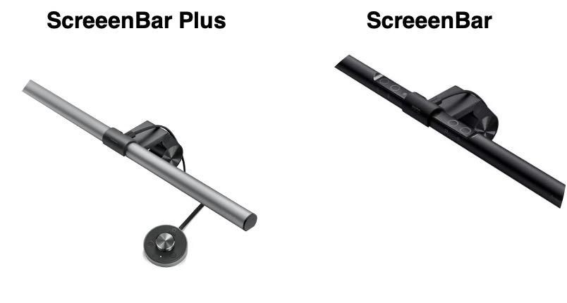 screenbar plusと無印